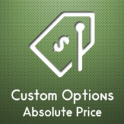 Magento Custom Options Absolute Price , Miscellaneous Software