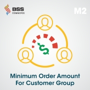 Minimum Order Amount For Customer Group Extension For Magento 2, Shopping Carts Software