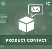PrestaShop Contact Form For Products Module, Shopping Carts Software