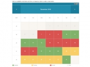 Rental Property Booking Calendar by PHPJabbers, StivaSoft