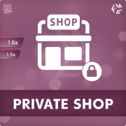 PrestaShop Private Shop Module by FME, Shopping Carts Software
