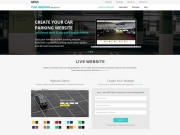 Car Parking Website - Vevs.com SaaS