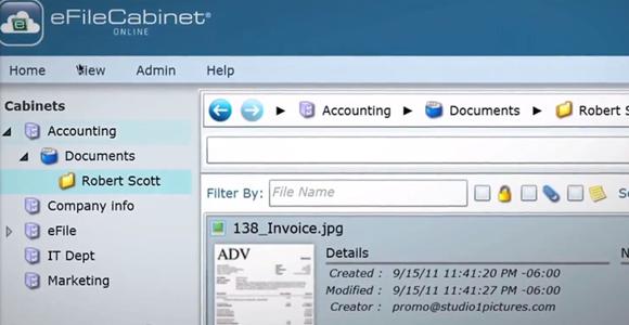 GeekyCorner.com | eFileCabinet | cloud document management