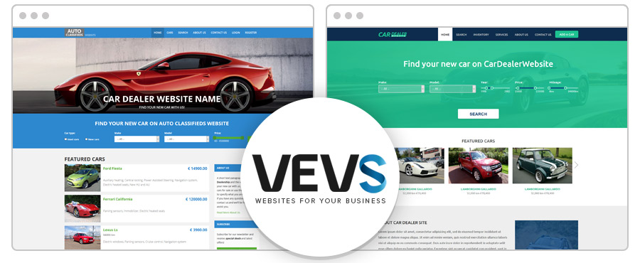 VEVS websites for your business